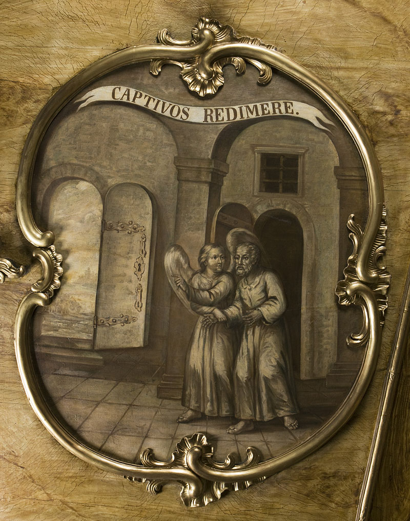 5 - Więźniów uwalniać. Sklepienie sali portretowej.