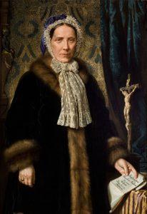 Anna z Treutlerów Helclowa. Sala portretowa Arcybractwa Miłosierdzia.