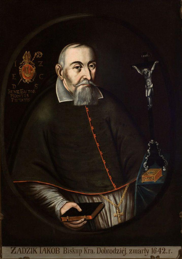 Biskup Jakub Zadzik. Sala portretowa.