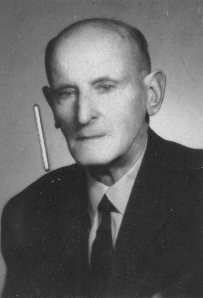 Józef Chojnacki. Fotografia w sekretariacie Arcybractwa Miłosierdzia.