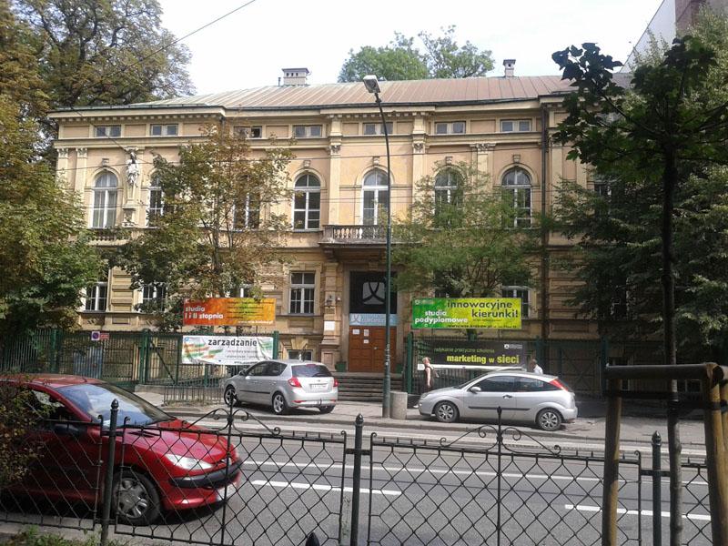Kamienica Rzewuskiego przy ul. Westerplatte w Krakowie.
