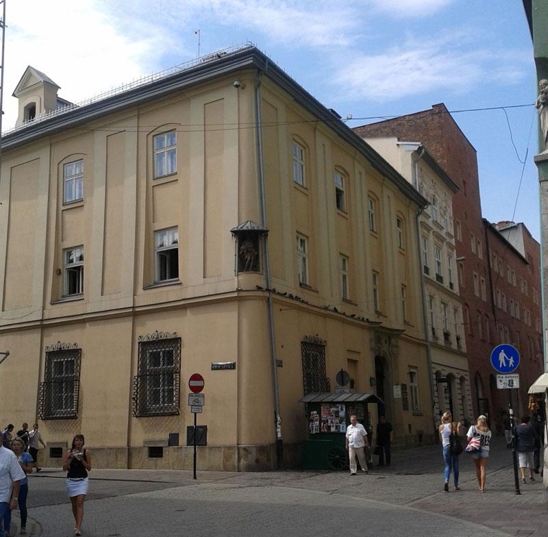 Kamienica rezydencjonalna Arcybractwa Miłosierdzia przy ul. Siennej w Krakowie.