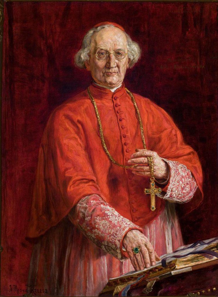 Kardynał Albin Dunajewski. Sala portretowa.