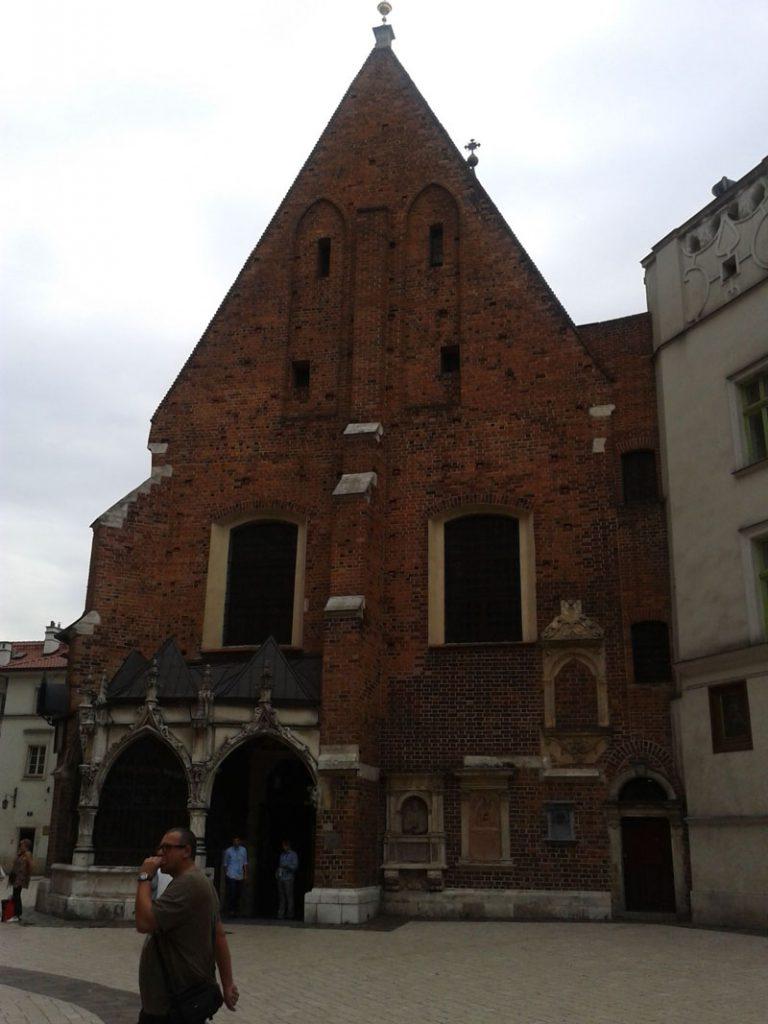 Kościół św. Barbary w Krakowie.