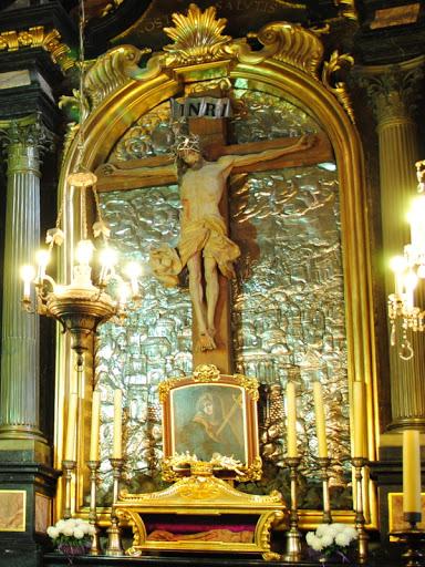 Krucyfiks Slackerowski w Kościele Mariackim