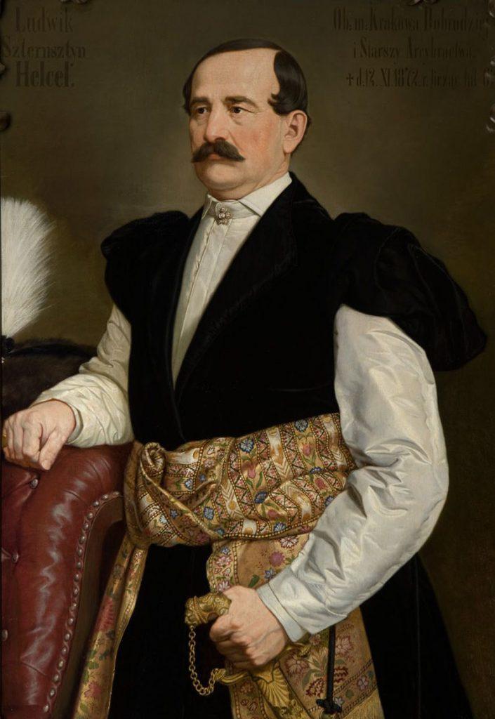 Ludwik Sztersztyn Helcel. Sala portretowa Arcybractwa Miłosierdzia.