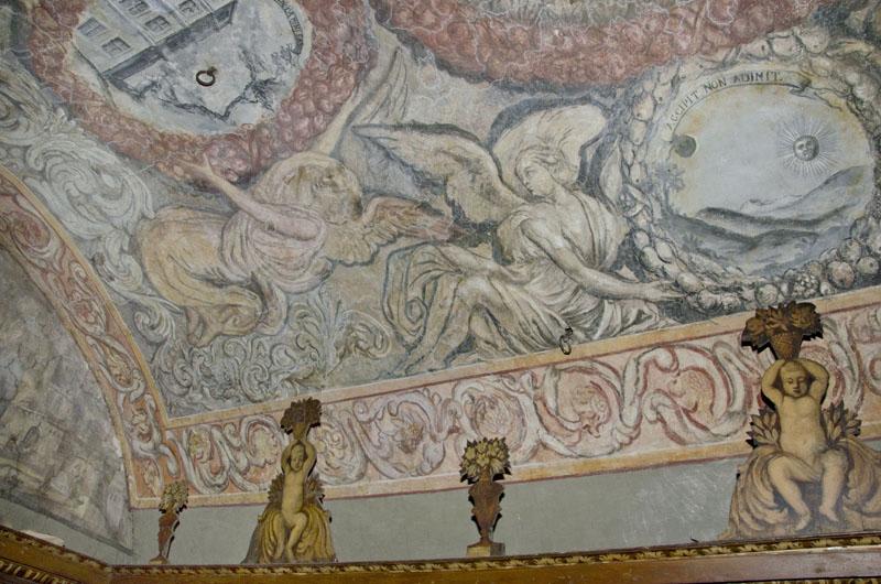 Malowidła na sklepieniu sali klejnotowej. 2