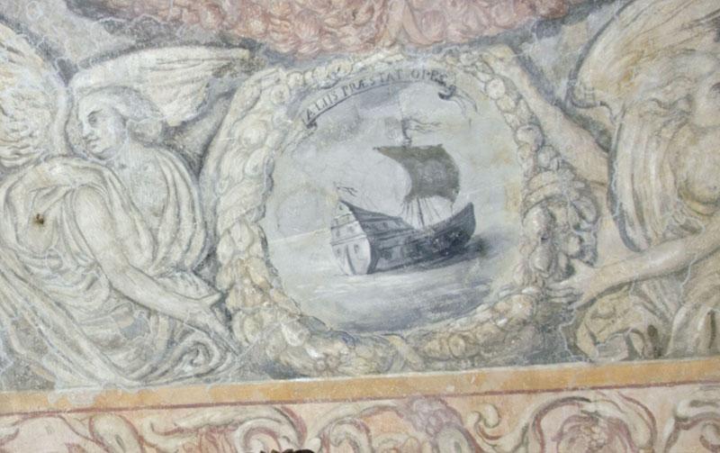 Malowidła na sklepieniu sali klejnotowej. 3