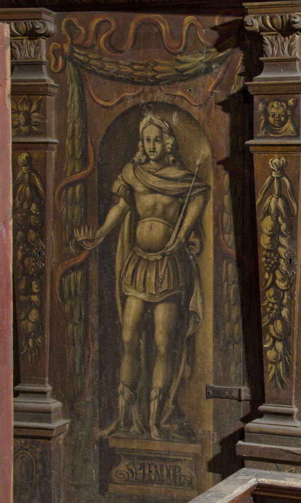Splendor. Malowidło na szafie w sali klejnotowej.