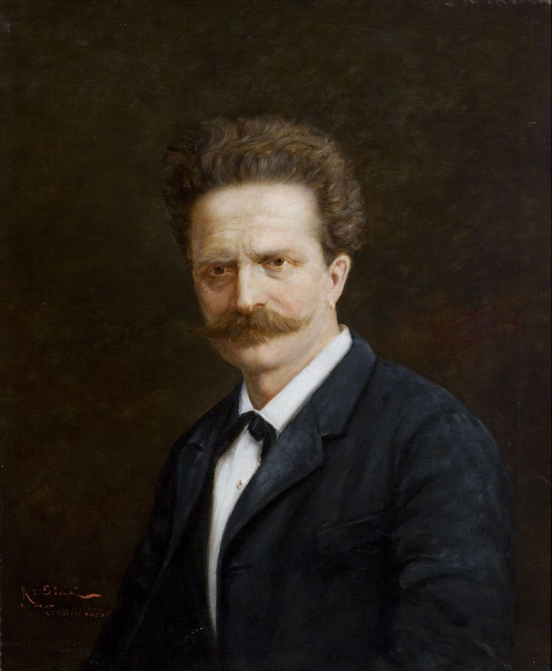 Walery Rzewuski. Portret w sekretariacie Arcybractwa Miłosierdzia.