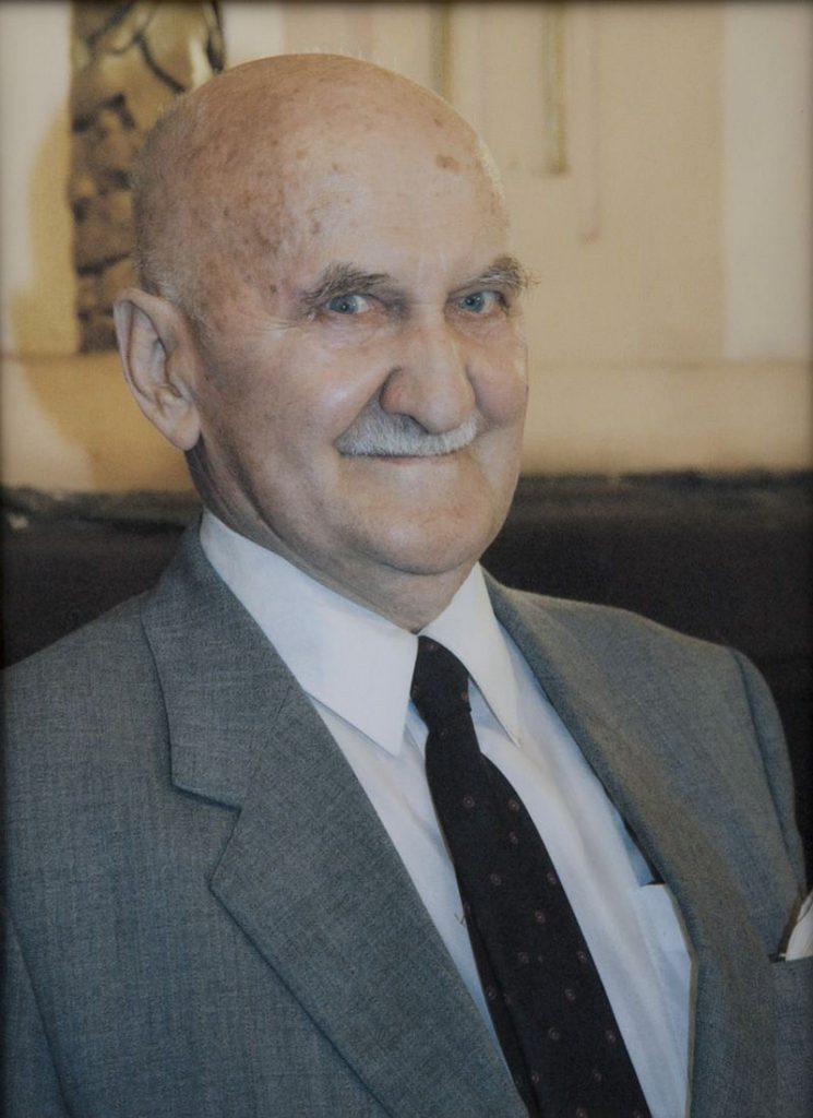 Zbigniew Chojnacki. Fotografia w sekretariacie Arcybractwa Miłosierdzia.