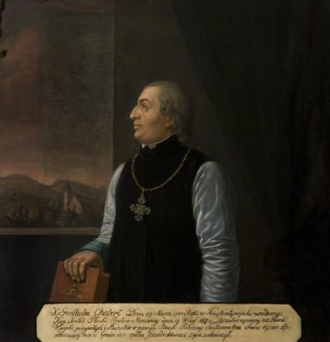 Ks. Guithelm Chabert. Sala portretowa Arcybractwa Miłosierdzia.