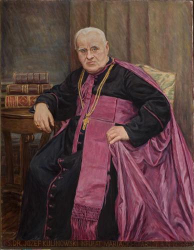 Ks. Józef Kulinowski. Sala portretowa Arcybractwa Miłosierdzia.