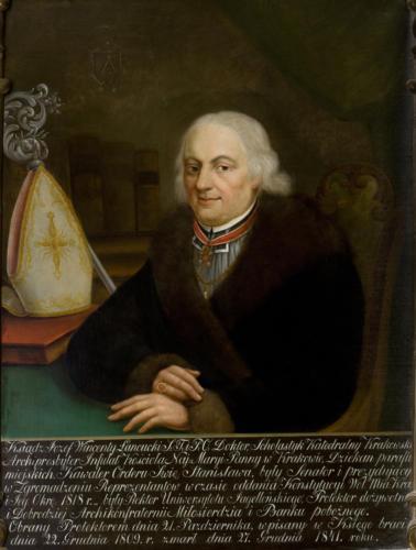 Ks. Józef Wincenty Łancucki. Sala portretowa Arcybractwa Miłosierdzia.