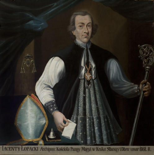 Ks. Jacek Łopacki. Sala portretowa Arcybractwa Miłosierdzia.