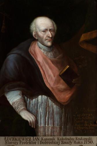 Ks. Jan Łuczkiewicz. Sala portretowa Arcybractwa Miłosierdzia.