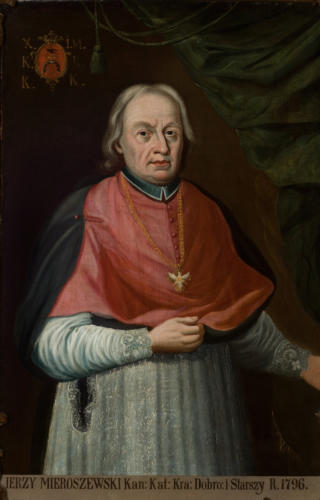 Ks. Jerzy Mieroszewski. Sala portretowa Arcybractwa Miłosierdzia.
