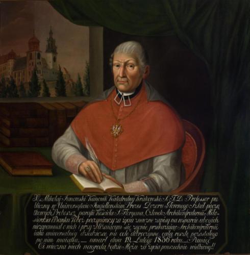 Ks. Mikołaj Janowski. Sala portretowa Arcybractwa Miłosierdzia.
