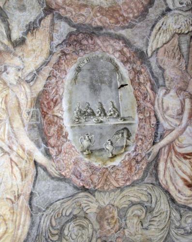 Malowidła na sklepieniu sali klejnotowej. 1