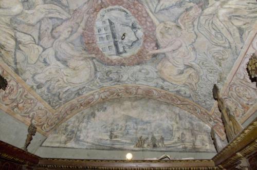 Malowidła na sklepieniu sali klejnotowej. 4