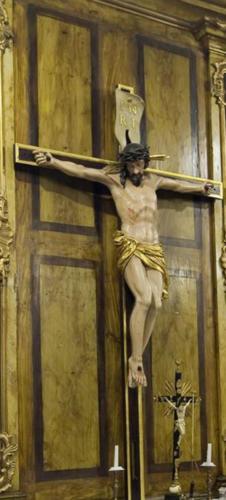 Pan Jezus na Krzyżu. Sala portretowa.