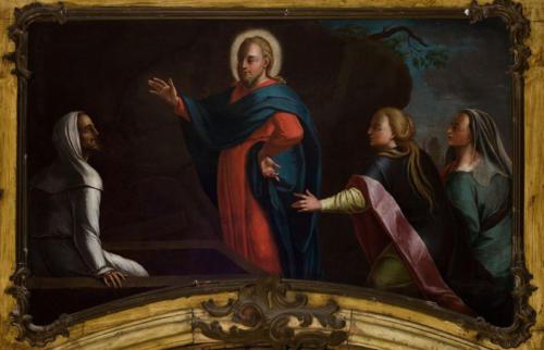 Pan Jezus wskrzeszający Łazarza. Sala portretowa.
