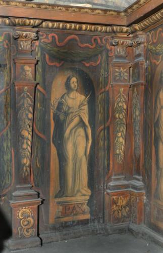 Pax (pokój). Malowidło na szafie w sali klejnotowej.