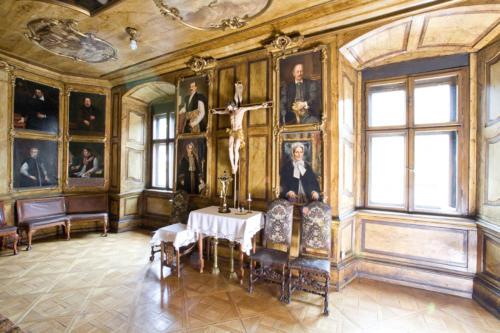 Sala portretowa Arcybractwa Miłosierdzia. 1