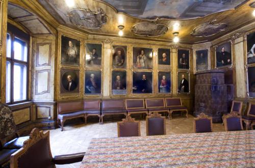 Sala portretowa Arcybractwa Miłosierdzia. 4