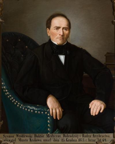 Szymon Wróbleski. Sala portretowa Arcybractwa Miłosierdzia.