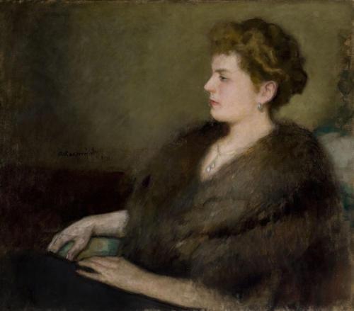 Wanda z Włodków hr. Bobrowska. Portret w sekretariacie Arcybractwa Miłosierdzia.