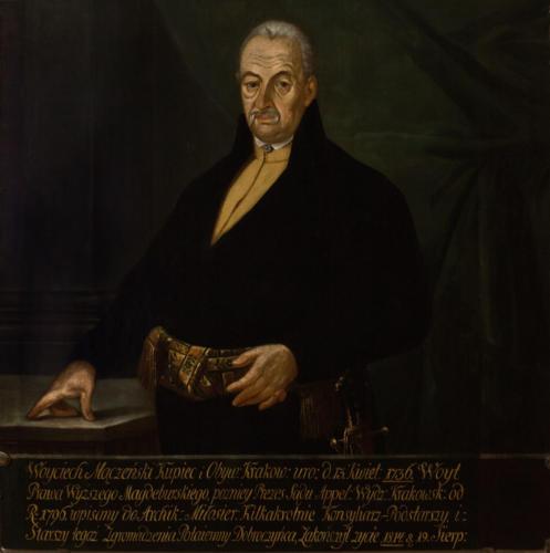 Wojciech Mączeński. Sala portretowa Arcybractwa Miłosierdzia.